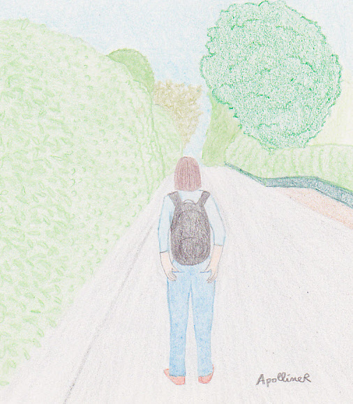 move forward drawing