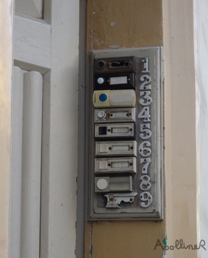 unmatching doorbells in Malta