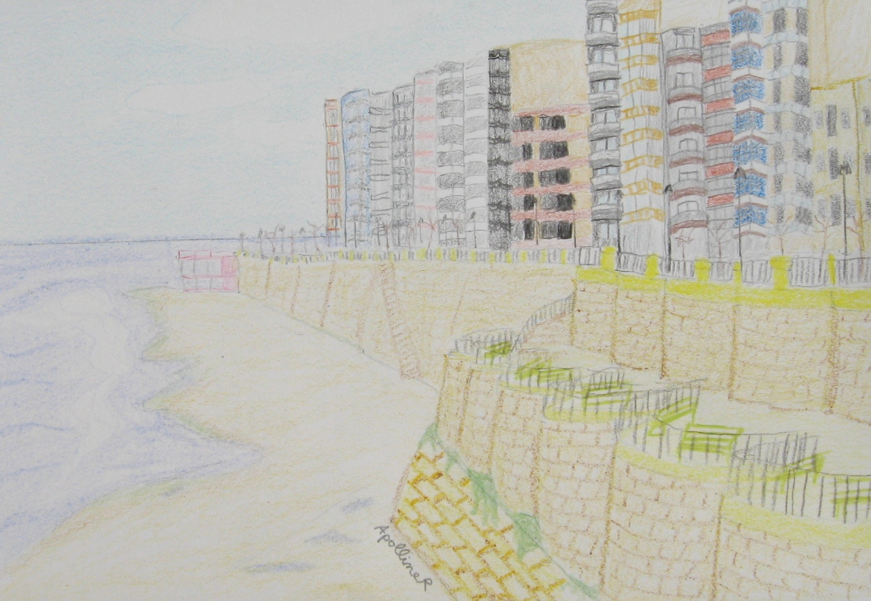 drawing of Sliema Waterfront