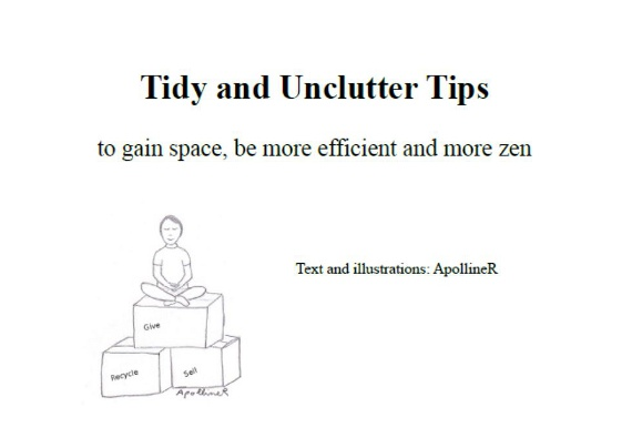 Tidy and Unclutter Tips