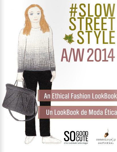 #SlowStreetStyle Lookbook Autumn/Winter 2014-2015 cover