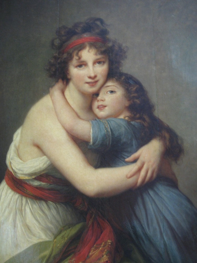 Madame Vigée Le Brun and her daughter, Julie, circa 1789 (self-portrait)