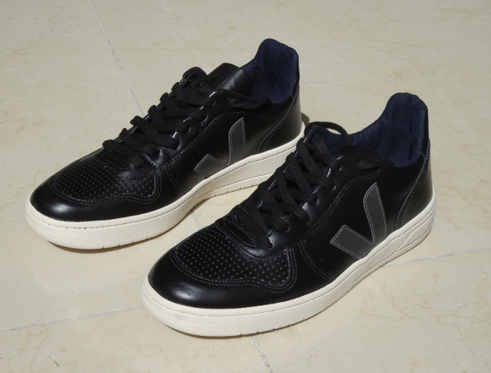 Baskets Veja V10 black graphite